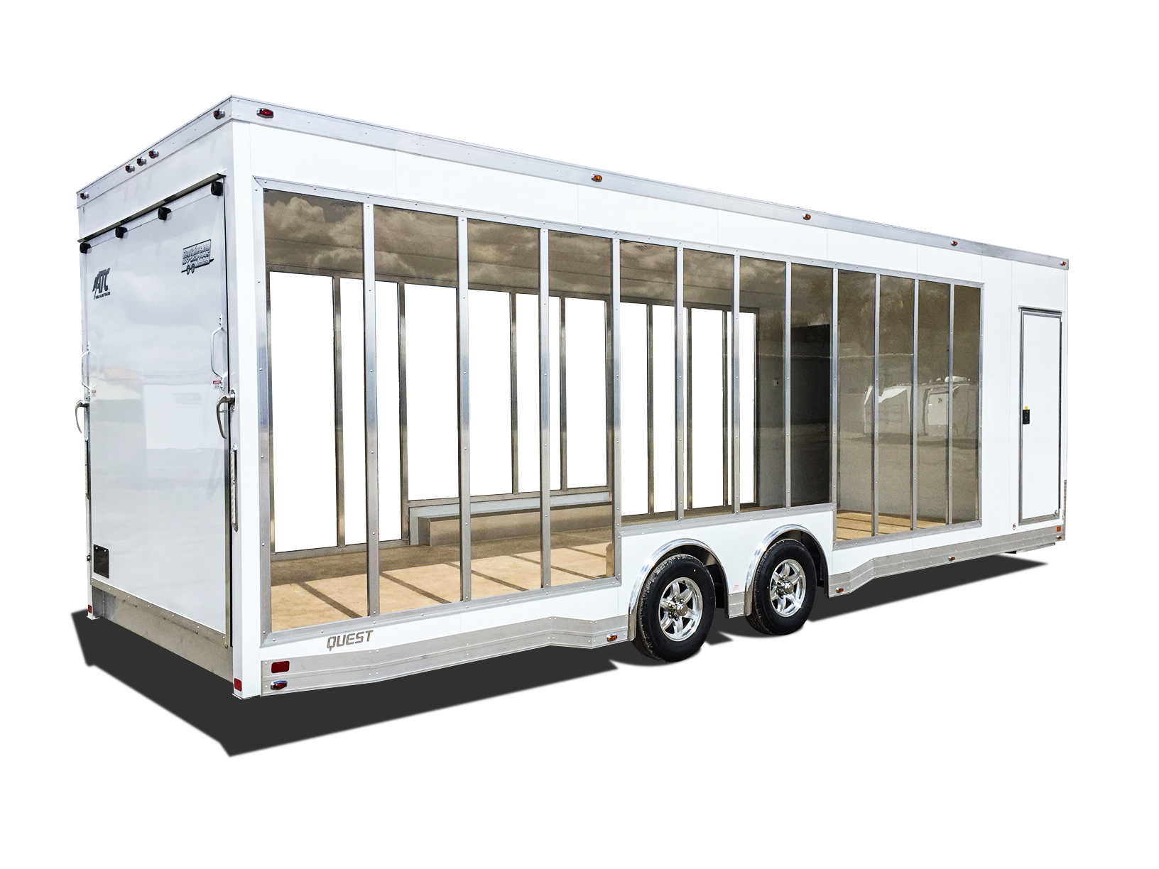 Ready to lease event trailers.